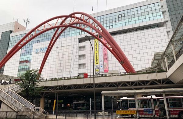 立川駅前の写真